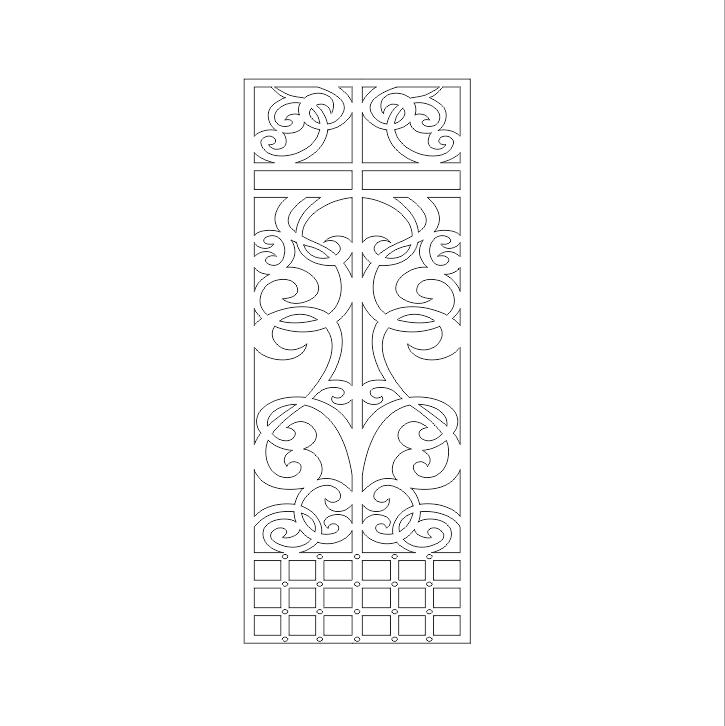 فایل اتوکد طراحی دروازه های ورودی منازل مسکونی