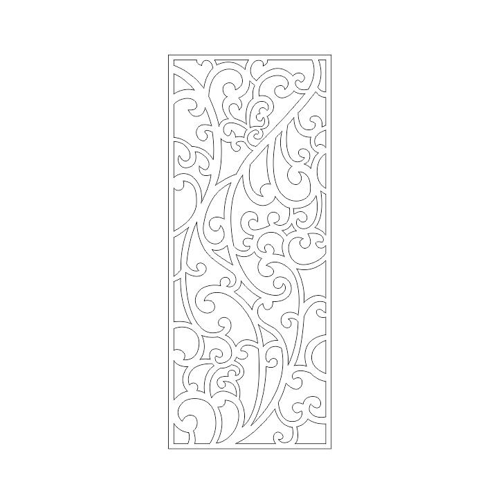 دانلود طرح روی درب فلزی برش پلاسما