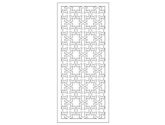دانلود Cnc طرح درب فلزی