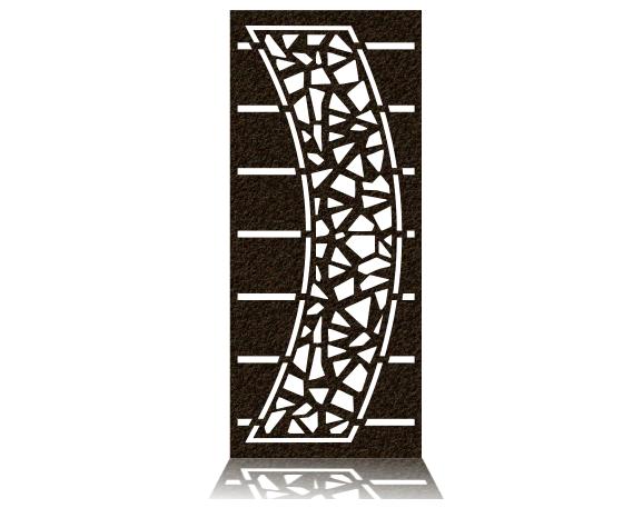 دانلود فایل برش طرح درب فلزی یک لنگه برش پلاسما