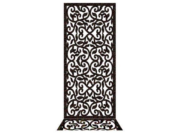 دانلود طرح پارتیشن درب فلزی