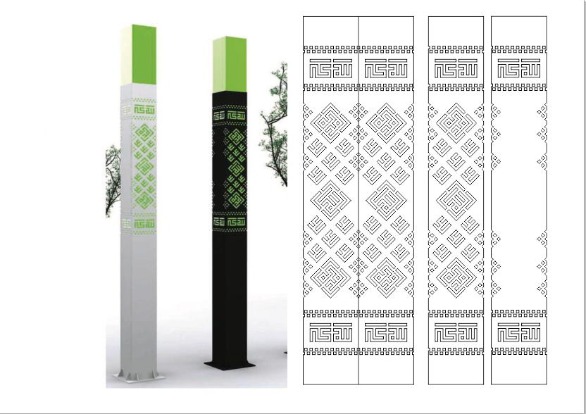 دانلود طرح برش پلاسما برای مسجد