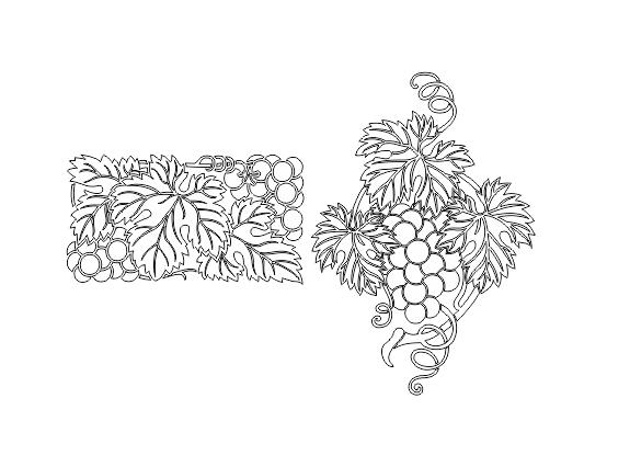 دانلود طرح سند بلاست خوشه انگور