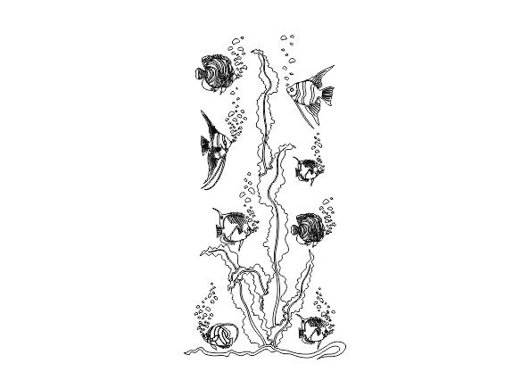دانلود طرح کورلی ماهی و دریا برای سند بلاست