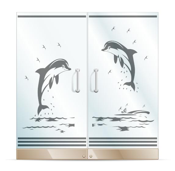 نمونه طرح های سند بلاست روی شیشه